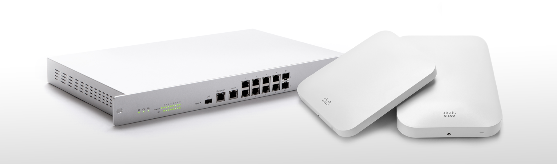 Cisco Meraki Cloud Access Points switchen Wifi
